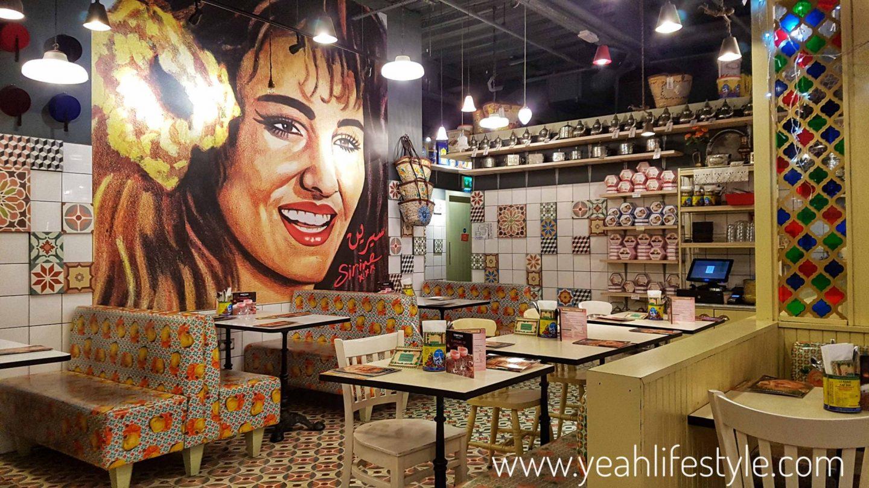 Comptoir-Libanais-Christmas-Menu-Food-Blogger-Manchester-UK-Beetroot-Chairs-tables