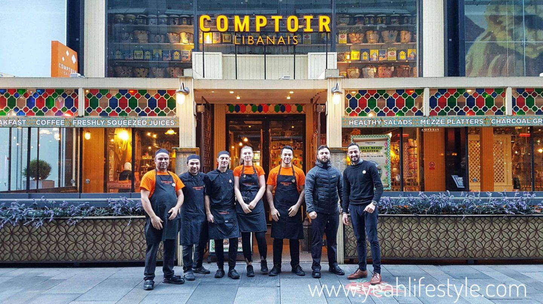 Comptoir-Libanais-Christmas-Menu-Food-Blogger-Manchester-UK-Beetroot-Chef-Staff