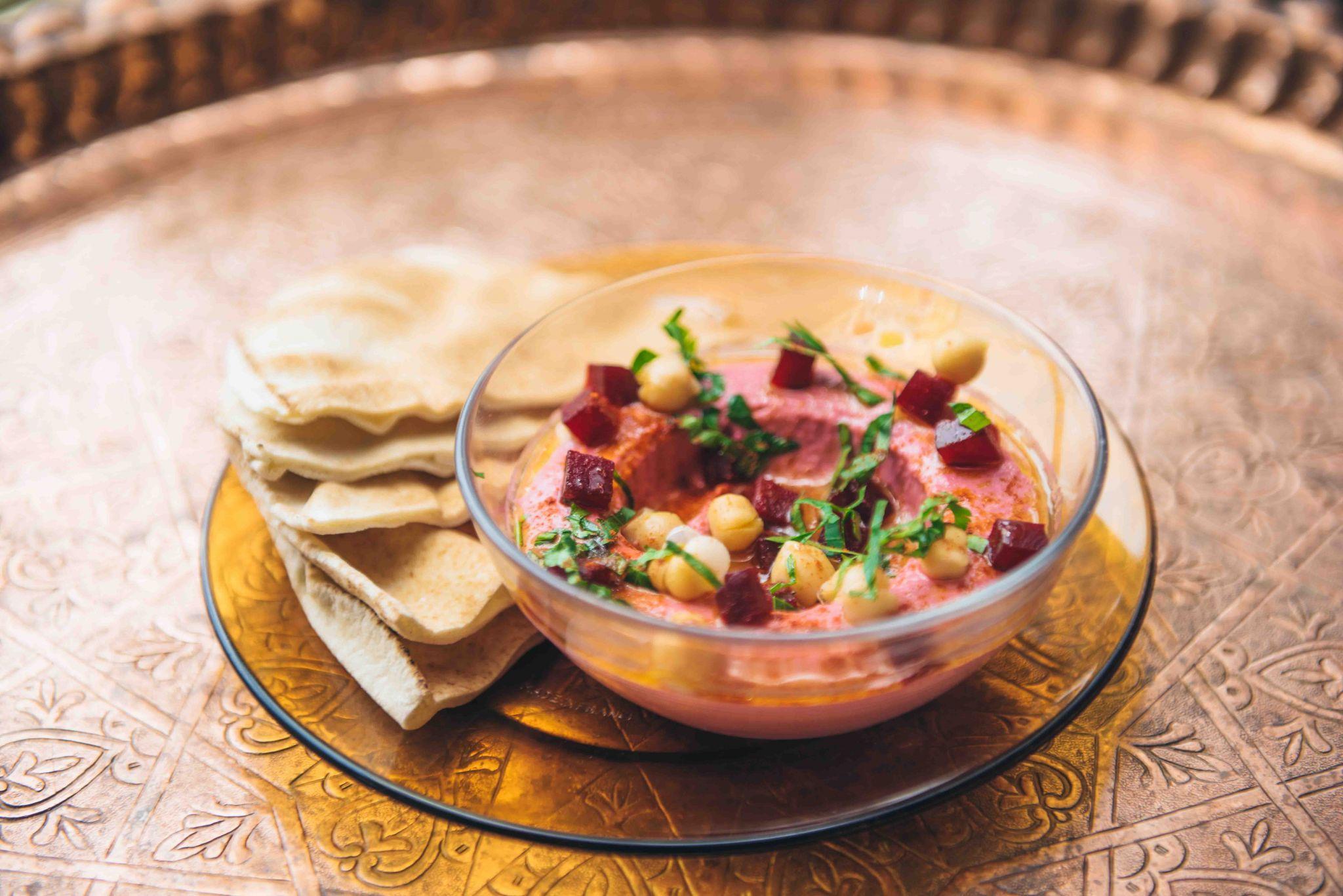 Comptoir-Libanais-Christmas-Menu-Food-Blogger-Manchester-UK-Beetroot-Labne
