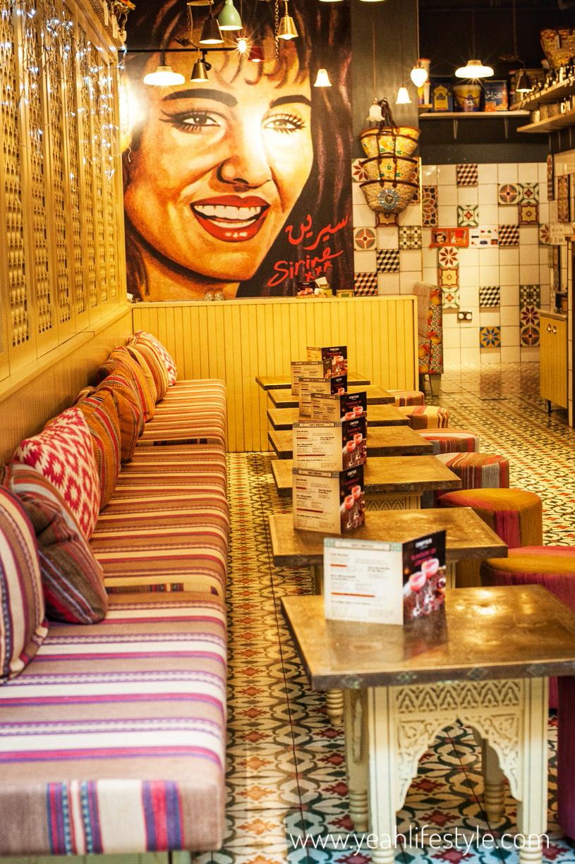 Comptoir-Libanais-Christmas-Menu-Food-Blogger-Manchester-UK-interior-decor-cosy