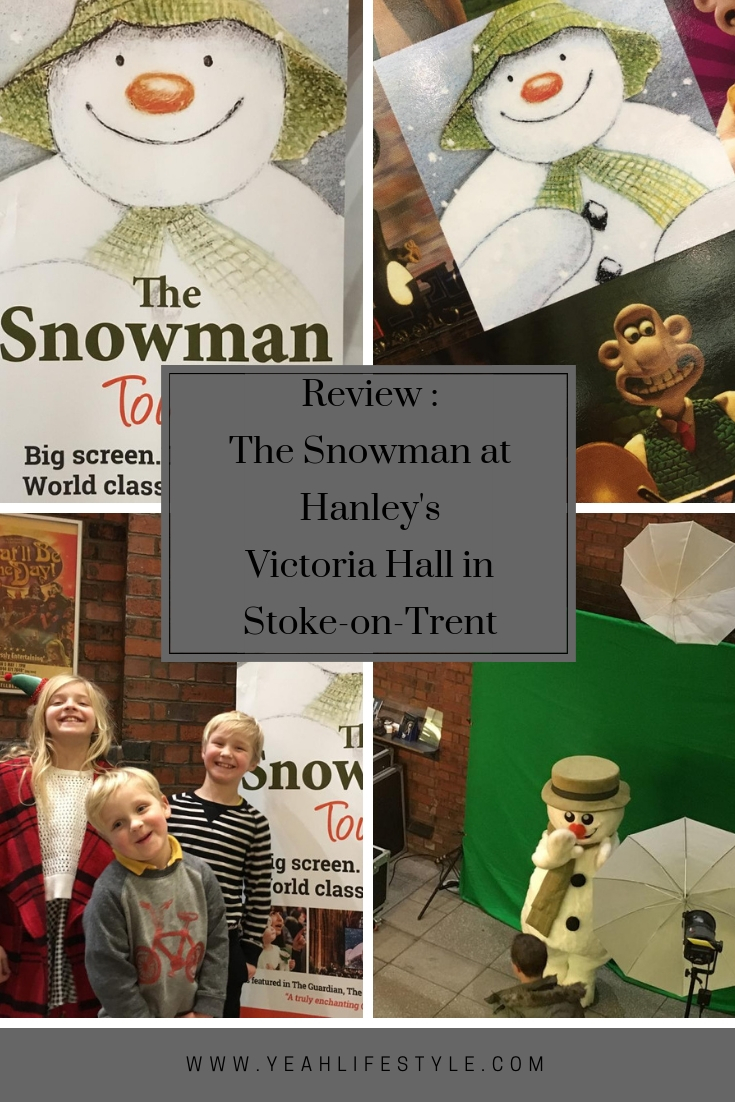 Review -The-Snowman-at-Hanley-Victoria-Hall-Stoke-on-Trent