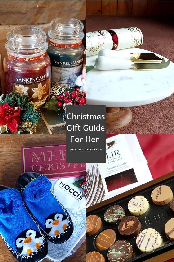 christmas-gift-guide-for-her-chocolates-candles-moccis-marble-cake-stand-cheese-knife-uk-pinterest