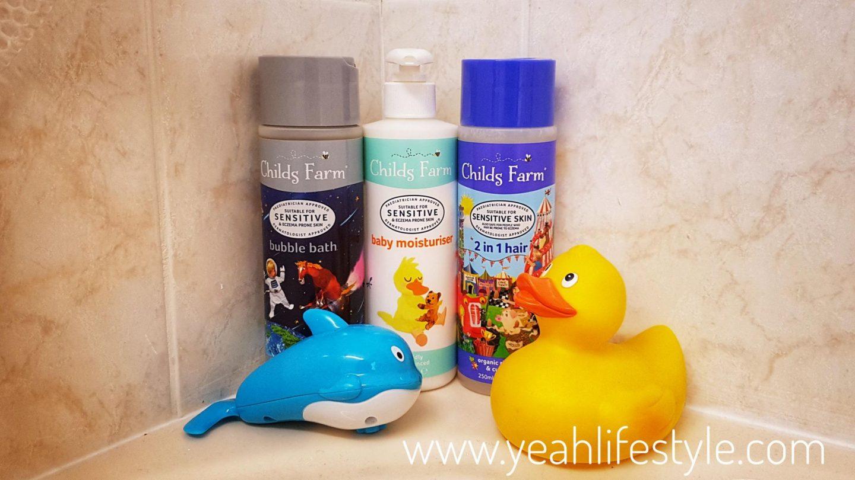 Childs-farm-organic-bath-shower-moisturiser-january-blogger-gift-guide