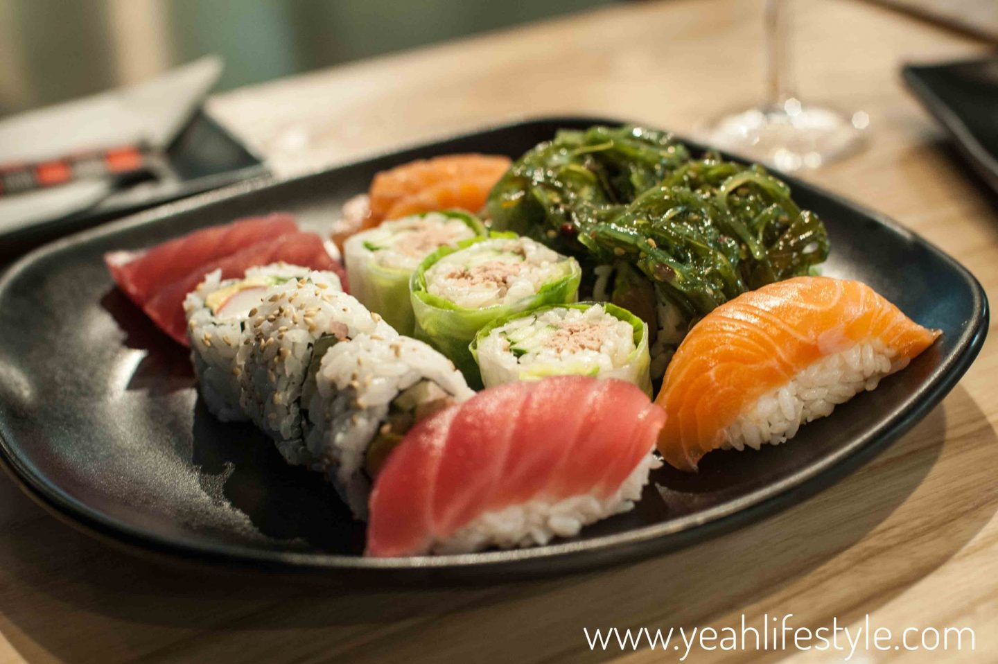 restaurant review sushi daily at