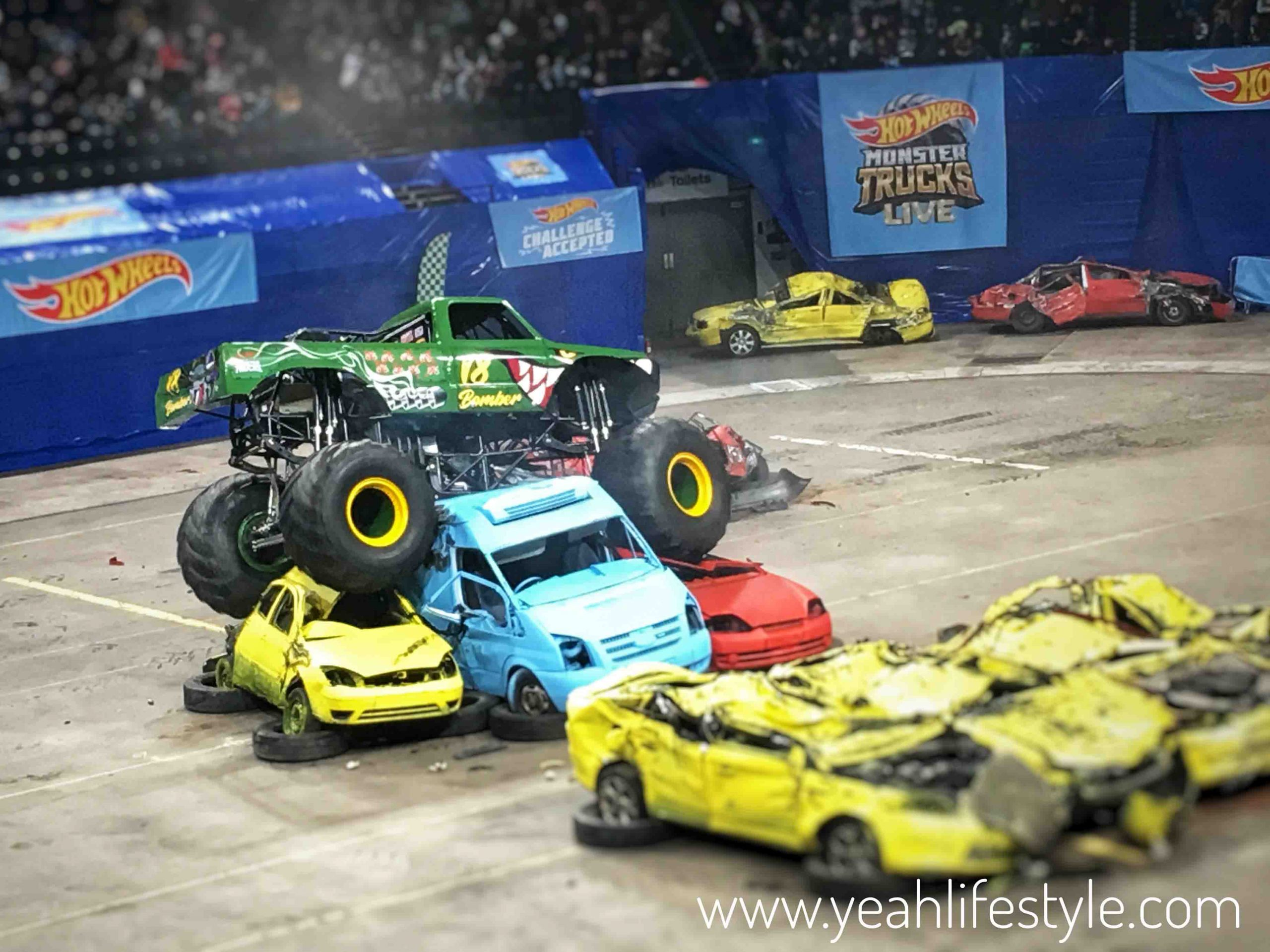 Review Hot Wheels Monster Truck Live In Manchester